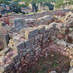 Restos del castillo árabe en Siurana en el Priorat de Tarragona