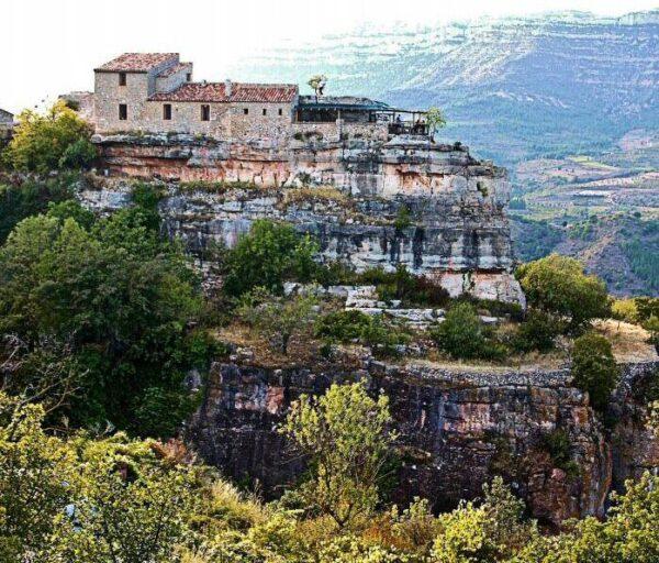 Refugio de montaña en Siurana en el Priorat de Tarragona
