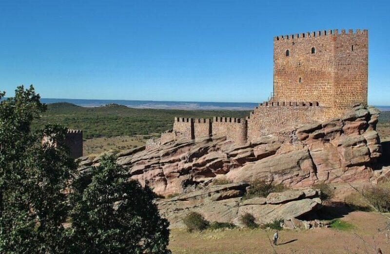 Castillo de Zafra en la provincia de Guadalajara