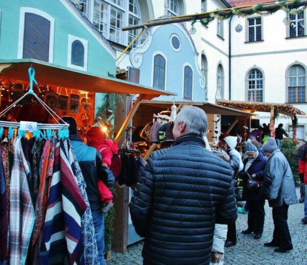 Mercadillo navideño de Füssen en Baviera al sur de Alemania