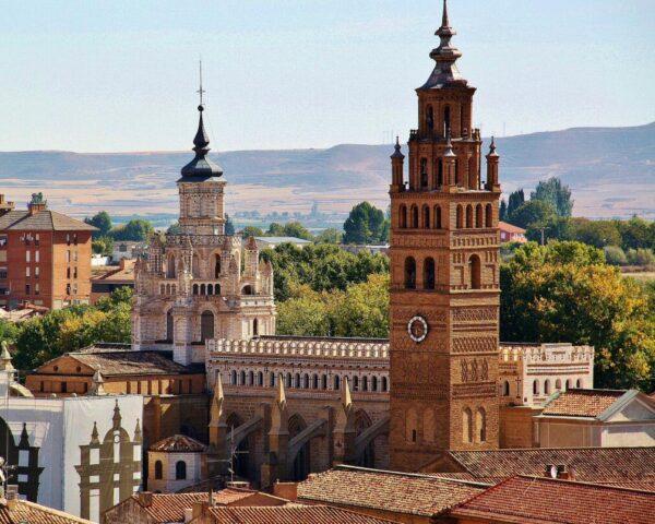 Catedral de Tarazona en la provincia de Zaragoza