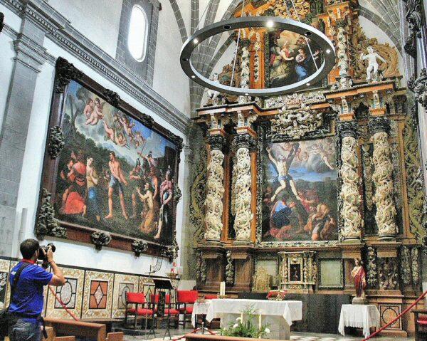 Capilla barroca de San Andrés en la Catedral de Tarazona
