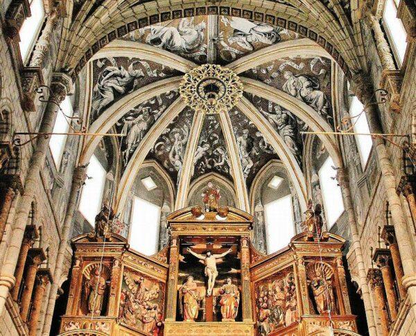 Capilla Mayor de la catedral de Tarazona