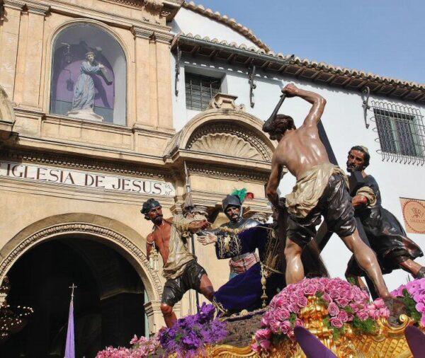 Procesión de los Salzillos en Murcia