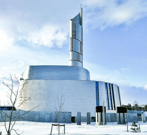 Catedral de las Luces en Alta al norte de Noruega