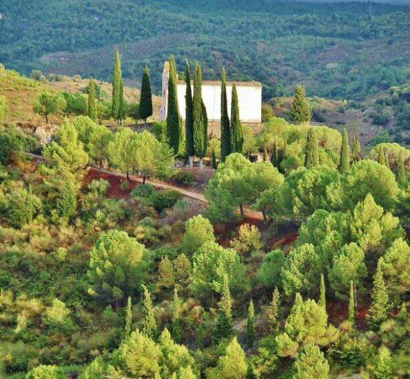 Ermita de Porrera en Priorat en Tarragona