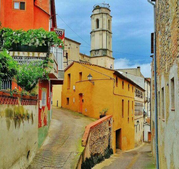Porrera en Priorat en Tarragona