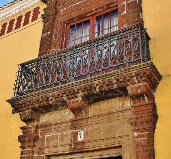 Casa de los Capitanes Generales en La Laguna en Tenerife