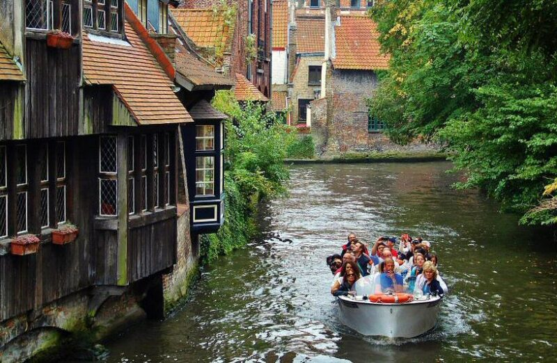 Canales de Brujas en Bélgica