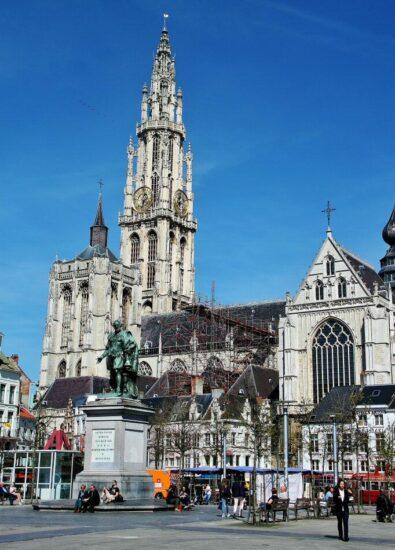 Catedral de Amberes en Bélgica