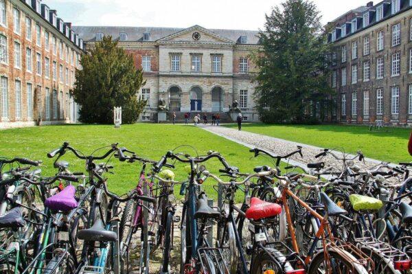 Bicicletas en Lovaina