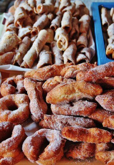 Dulces tradicionales del Valle del Jerte en Extremadura