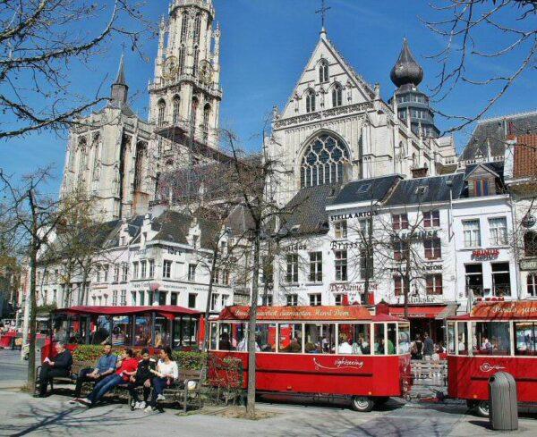 Rincón de Amberes en Bélgica