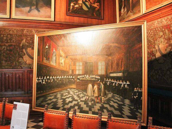 Sala de Juicios del Ayuntamiento de Brujas