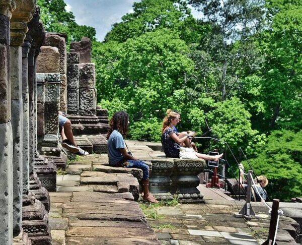 Templo Pre Rup en Angkor en Camboya