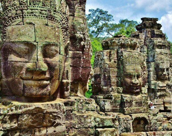 Templo Angkor Thom en Camboya