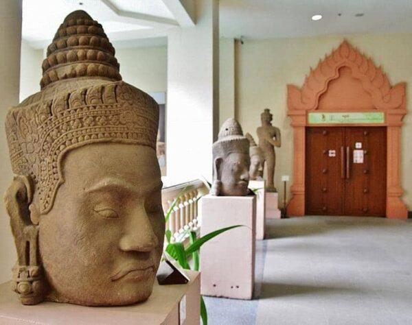 Museo en Siem Reap en Camboya