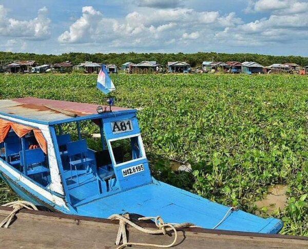 Tonle Sap en Camboya