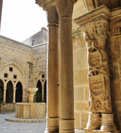 Claustro de la Catedral Vieja en Plasencia