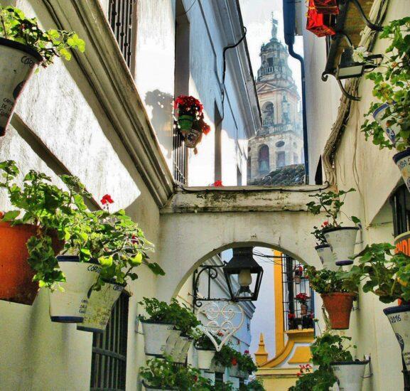 Callejón de las Flores en Córdoba