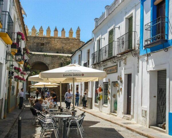Rincón de la Judería en Córdoba en Andalucía