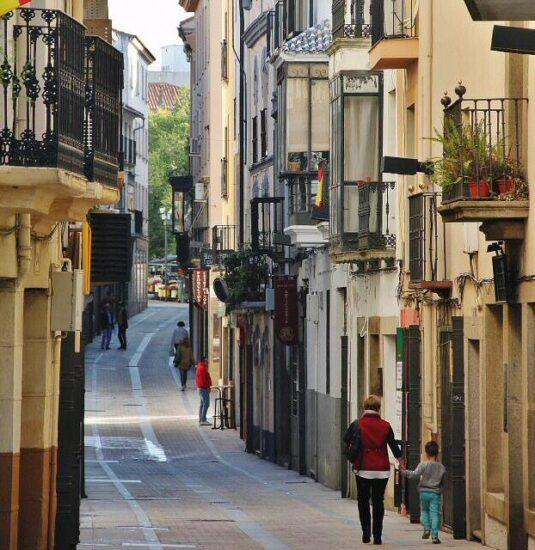 Rincón del centro histórico de Plasencia