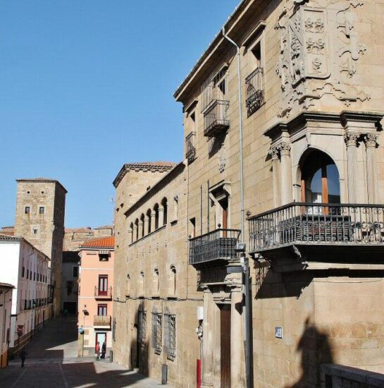 Casa del Deán en la plaza de la Catedral en Plasencia