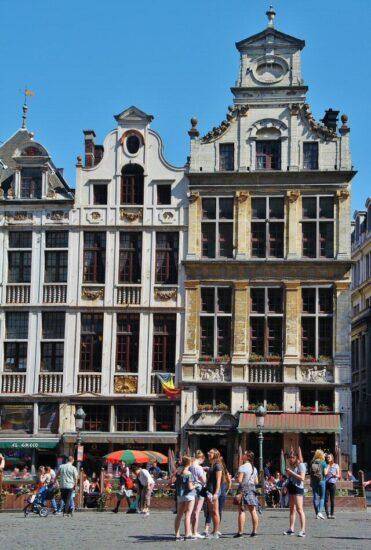 Grand Place de Bruselas en Bélgica