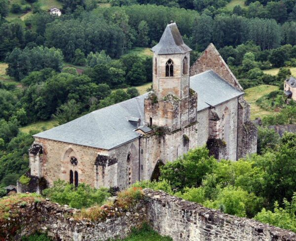 Iglesia de San Juan Evangelista en Najac