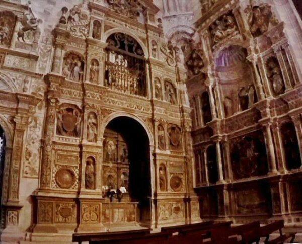 Retablo de la Santa Librada en la catedral de Sigüenza