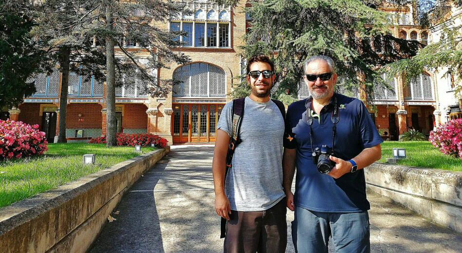 Carlos y José Luis Sarralde