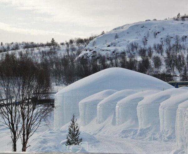 Snowhotel, hotel de hielo en Kirkenes al norte de Noruega