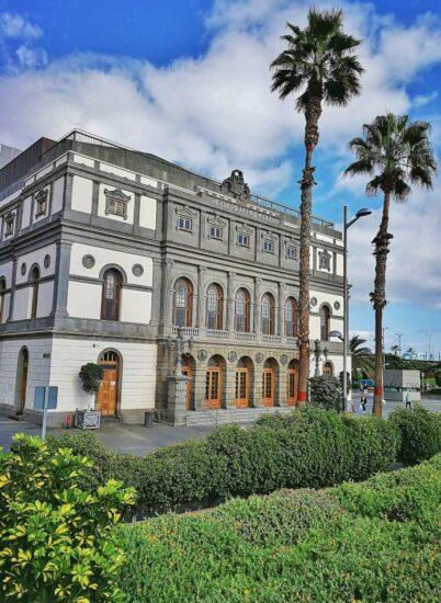 Teatro Pérez Galdós en Triana en Las Palmas de Gran Canaria