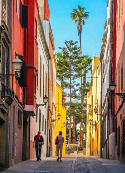Rincón del barrio de Vegueta en Las Palmas de Gran Canaria