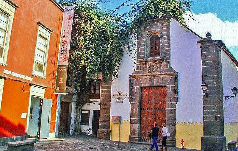 Plaza San Antoni Abad en Vegueta en Las Palmas de Gran Canaria