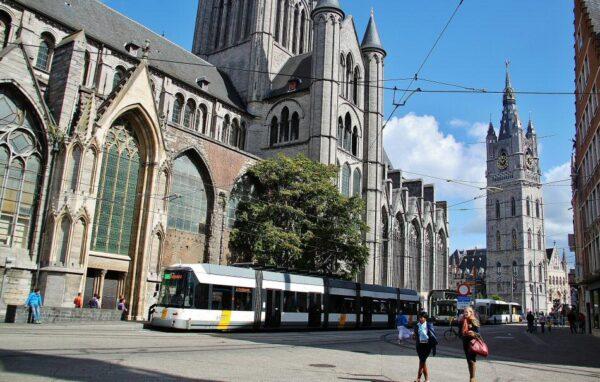 Tranvías en Gante