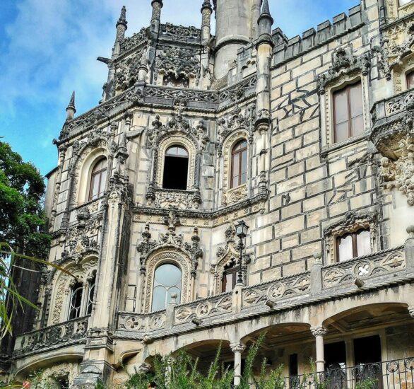 Palacio de la Quinta de Regaleira en la Sierra de Sintra