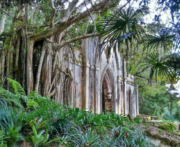Capilla de la Quinta de Regaleira en la Sierra de Sintra