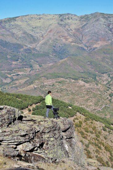 Avistar aves en el Valle del Jerte en Extremadura