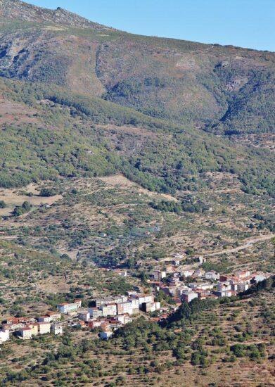 Tornavacas en el Valle del Jerte en Extremadura