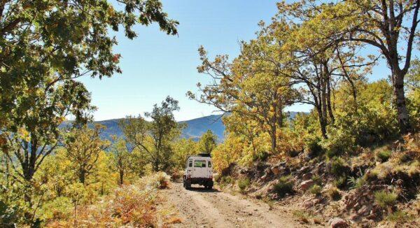 Excursión 4x4 por la Garganta de los Infiernos en Valle del Jerte