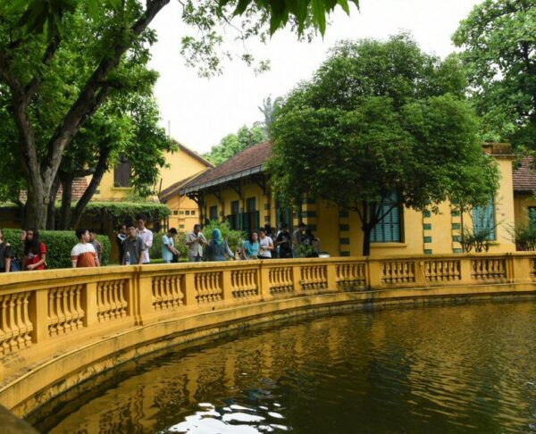 Jardín Botánico en Hanoi en Vietnam