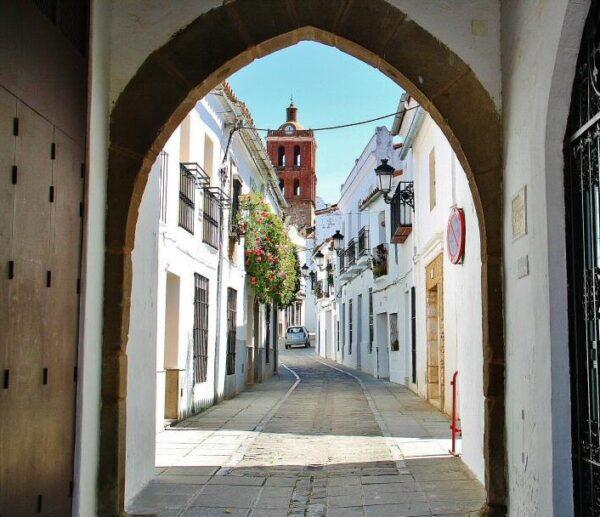 Zafra en Badajoz en Extremadura