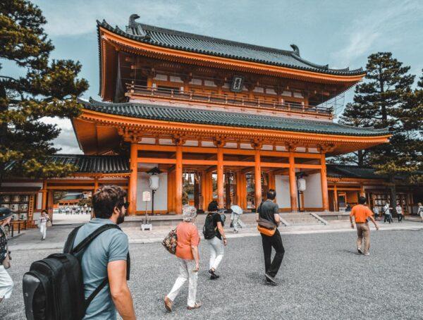 Rincón de Kioto en Japón