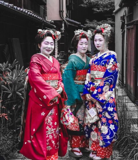 Vestido tradicional Japonés