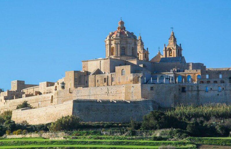 Mdina, ciudad medieval amurallada en Malta