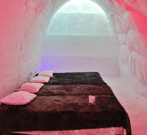 Hotel de hielo en Snowman World cerca de Rovaniemi