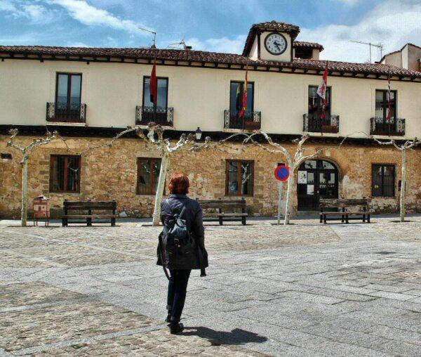 Ayuntamiento de la villa medieval de Covarrubias en Burgos