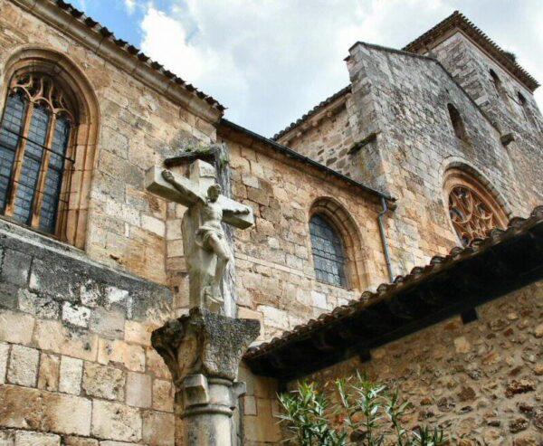 Colegiata de San Cosme y San Damián en Covarrubias en Burgos