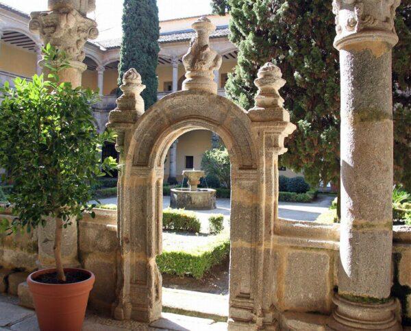 Monasterio de Yuste en Cáceres en Extremadura